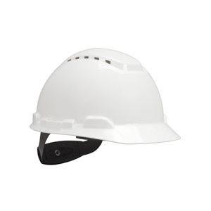 Hard Hat H-701V-UV, with UVicator, Vented ,White, 4-Point Ratchet Suspension, 20ea / cs