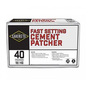 Sakrete Fast Setting Cement Patcher 40# Bag