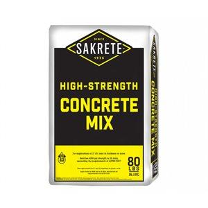Sakrete High Strenth Concrete Mix 80 # Bag