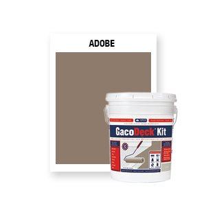 GacoDeck Kit - Adobe- 3.5 Gallon