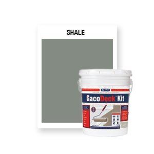 GacoDeck Kit - Shale- 3.5 Gallon
