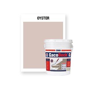 GacoDeck Top Coat - Oyster- 5 Gallon