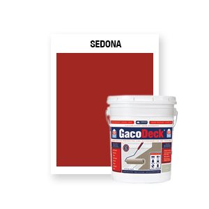 GacoDeck Top Coat - Sedona- 5 Gallon
