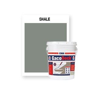 GacoDeck Top coat - Shale- 5 Gallon