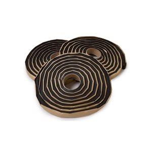 "WATERSTOP Half Round Shape- 3 / 4""x3 / 8""x33'4"" per roll. 6 rolls (200') per case"