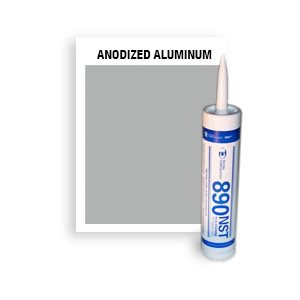 890 NST - CTG-804-Anodized Aluminum CTG Non-Staining, Ultra-Low Modulus Silicone Sealant-10 oz cartridge